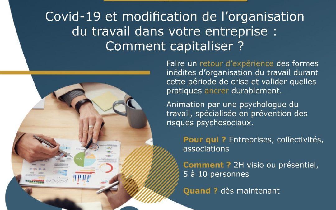 Atelier : Capitaliser sur vos nouvelles organisations de travail avec Envies RH